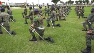 Zoom sur zambakro  : Une école de formation des officiers