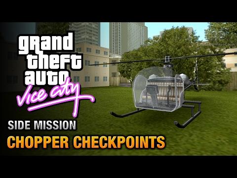 GTA Vice City - Chopper Checkpoints