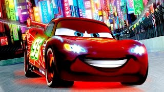 Cars 2 The Video Game-Gameplay-Cars Toon-RUSSIAN-Lighting McQueen wins race-Kids Movie-Disney Pixar