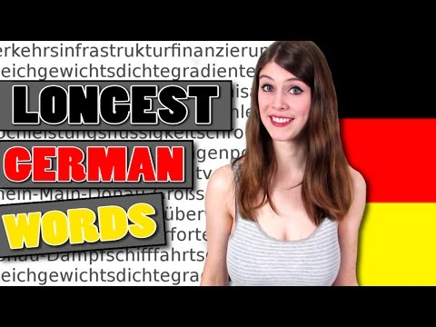 watch The 20 LONGEST GERMAN WORDS and What They Mean