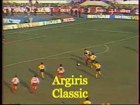 1987 - 88 ΑΕΚ - ΟΛΥΜΠΙΑΚΟΣ  1-3 (MITROPOULOS - FUNES)