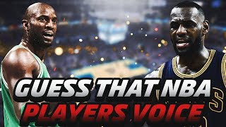 NBA PLAYER VOICE RECOGNITION QUIZ