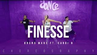 Finesse - Bruno Mars Ft. Cardi B   FitDance Life (Choreography) Dance Video