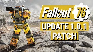 FALLOUT 76: Update 1.0.1 Patch Notes!! (Performance and Stability But NO STASH INCREASE)
