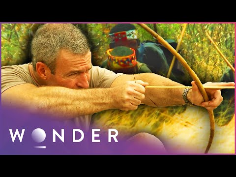 This Desert Tribe Crawl Into Animal Burrows To Hunt Them Man Hunt S1 EP4 Wonder