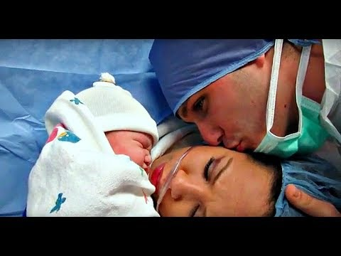 EMOTIONAL LIVE C-SECTION BIRTH!
