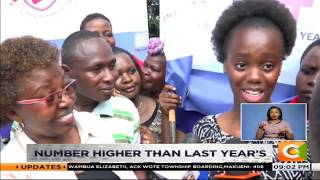 Top KCPE candidates celebrate