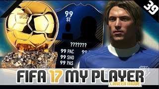 BALLON D'OR CEREMONY! | FIFA 17 Career Mode Player w/Storylines | Episode #39