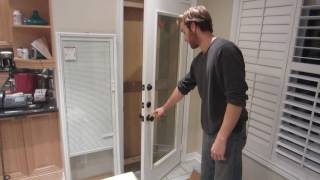 Removing Glass door insert
