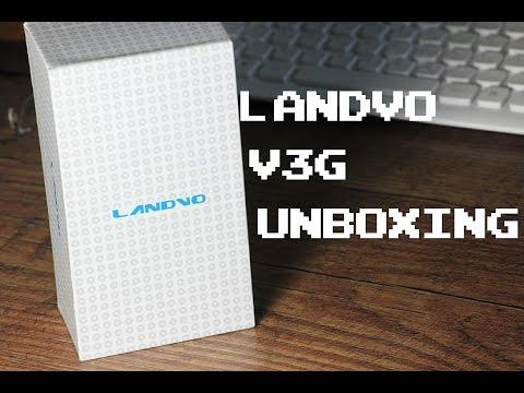 Unboxing : 45€ Smartphone Landvo V3G - Deutsch