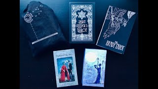 Unboxing & First Impressions of 5 New Tarot Decks!