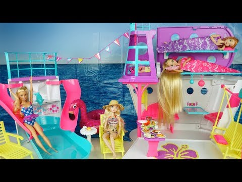 Xxx Mp4 Barbie Rapunzel Bunkbed Cruise Ship Morning Routine Frozen Elsa Anna Water Slide Party 3gp Sex