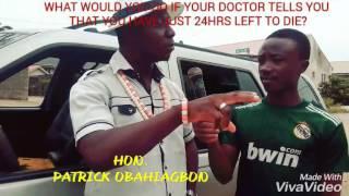 If you ask Hon Patrick Obahiagbon