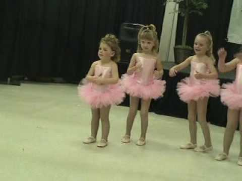 3 year old dances to Cuppycake and Twist and Shout Just for Kix dance performance