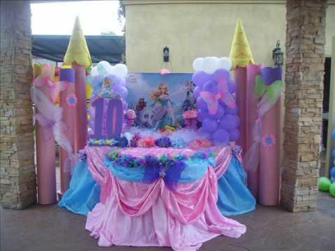 Decoracion fiestas infantiles Pinketadas