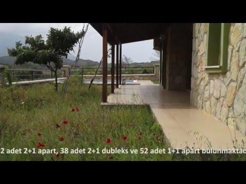 Ömrünüze Ömür Katacak Datça da 190 Konuttan Oluşan Satılık Villalar