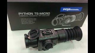 PRG Defense Showing Thermal Optics Python TS-Micro At NRA AM 2019