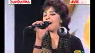 Ami Opar hoye boshe achhi Lalon s song sung by Oyshee Live on DESH TV