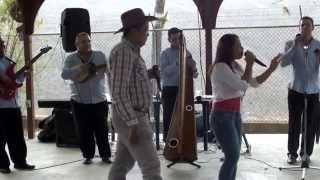 NUBIA GONZALEZ CON LINAJE LLANERO EN CONTRAPUNTEO CON EL FALCONEANO ISIDRO SALON