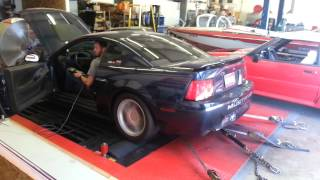 2V2Fear   543hp Mustang Gt, supercharged, 278 cam, Flowmaster super 44s
