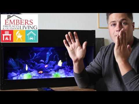 Dimplex Fake Fish Tank Illusion  Looks Real!
