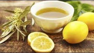 هل تعلم أن خليط الليمون و زيت الزيتون على الريق صباحا يصنع المعجزات للجسم !
