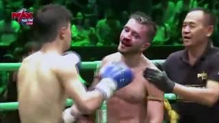 Saimir 7MT vs Liang Yihan - Max Muay Thai fighter