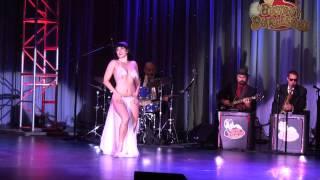 Ginger Valentine - Viva Las Vegas 15 Burlesque Showcase