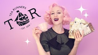 Brewing Up Delicious Tea from Tea Runners (ASMR soft spoken)