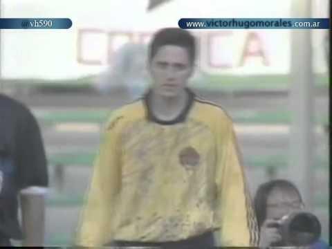 Penales Argentina vs Yugoslavia 3 2 Relato Victor Hugo Mundial 1990