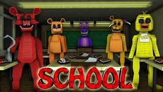 Minecraft School | Military School of Mods - Five Nights at Freddy's Mod! (FNAF, Springtrap, Freddy)