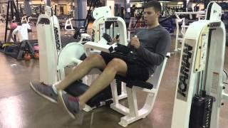 Soccer Goalkeeper Training - Weight Program