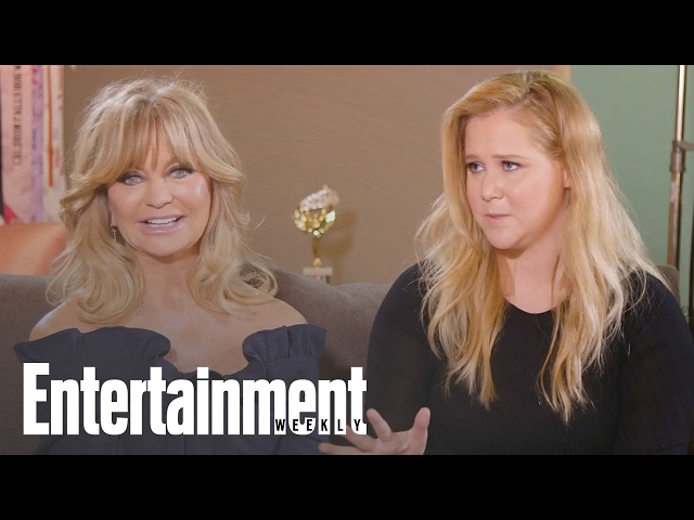 Amy Schumer Reveals What She Learned From Goldie Hawn On 'Snatched' | Entertainment Weekly