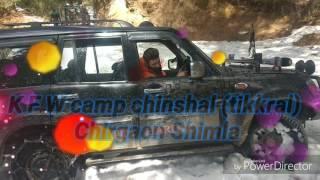 Snow drive chanshal pass 2017