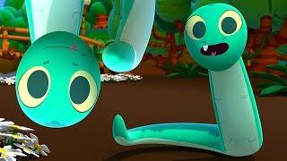 Soy una Serpiente - Las Canciones del Zoo 4 | El Reino Infantil