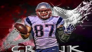 New England Patriots TE Rob Gronkowski was a BOSS in high school - REMIX