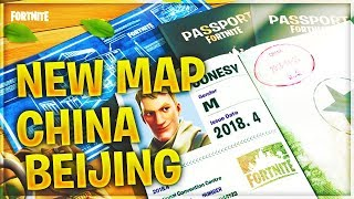 NEW MAP CHINA BEIJING // SEASON 4 UPDATE // FORTNITE BATTLE ROYALE