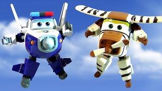 Super Wings Robocop Transforming Planes Toys 출동슈퍼윙스 신제품 장난감  Aviones Avions самолеты 비행기