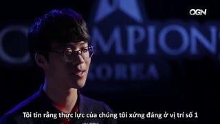 [LCK mùa xuân 2016] Phỏng vấn trước trận chung kết SKT vs ROX Tigers