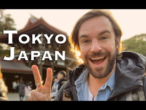 24 Hours in Tokyo Japan Budget Travel Guide
