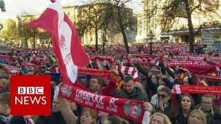 Hillsborough vigil sings You