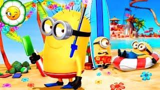 Гадкий Я: Minion Rush #34  Пляжная вечеринка! Новое сезонное спецзадание! Миньон Водолаз и вёдра!