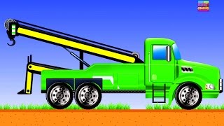 kids tow truck | magical tow truck | educational video for children