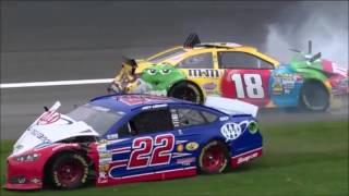 NASCAR Crash Compilation: Joey Logano