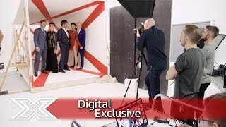 Go behind-the-scenes on this year's red hot X Factor glam shoot! | The X Factor 2016