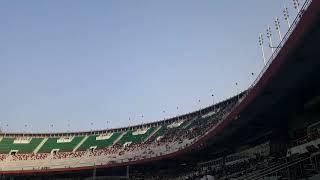 الوفود الأفريقية المشاركة في مهرجان الشباب ملعب 5جويلية الأولمبي