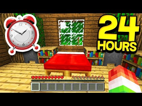 PLAYING MINECRAFT FOR 24 HOURS STRAIGHT!
