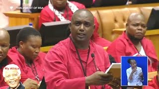 Sit Down Mr. Zupta - Hon Gardee (EFF)