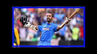 NEWS 24H - Dhawan led India to sabotage a series victory