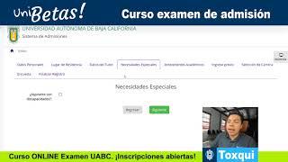 Admisiones UABC 2018 Tutorial - Preficha, Recibo de Pago UABC - Proyecto Impulsa